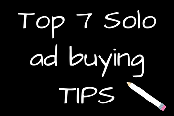 Top 7 Solo ad buying tips