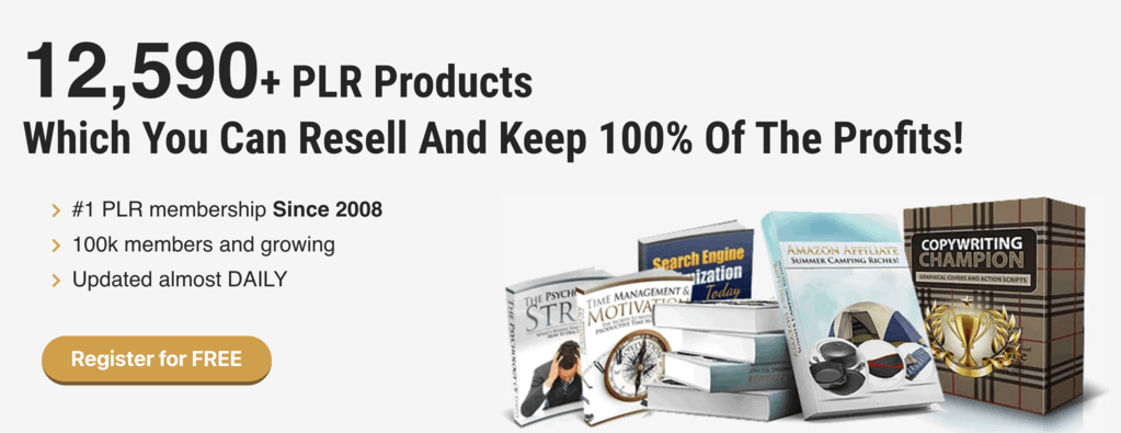 PLR products that you can resell
